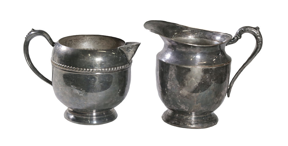 Silver Vase Collection