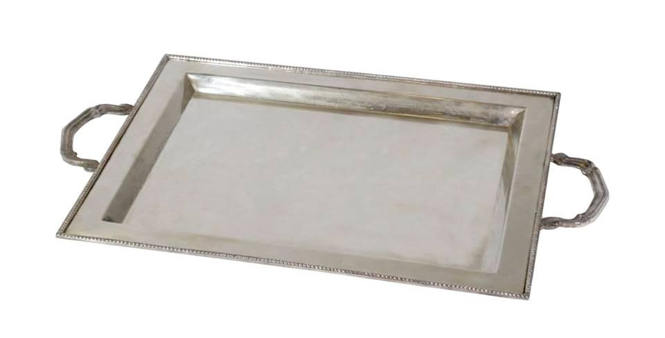 Large Classic Silver Tray