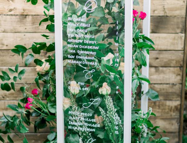 Acrylic White Frame Pillars