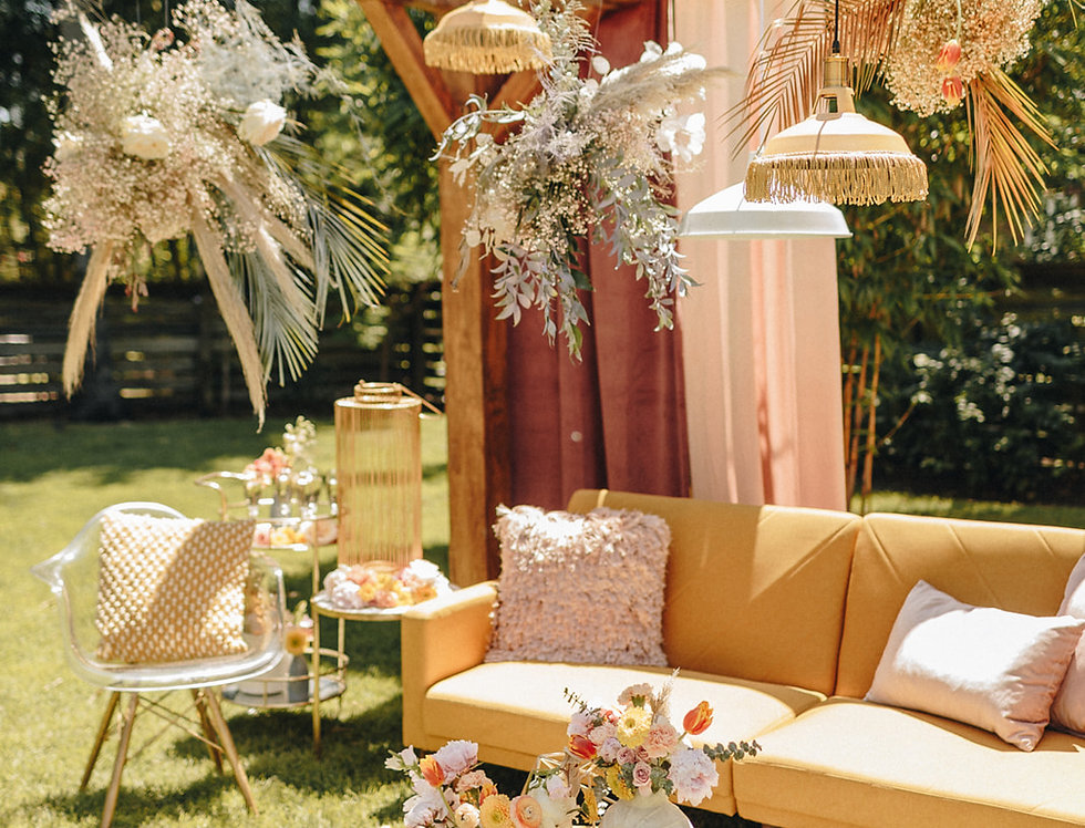 Kyra Yellow Sofa