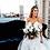 Thumbnail: Bianca Navy Velvet Loveseat