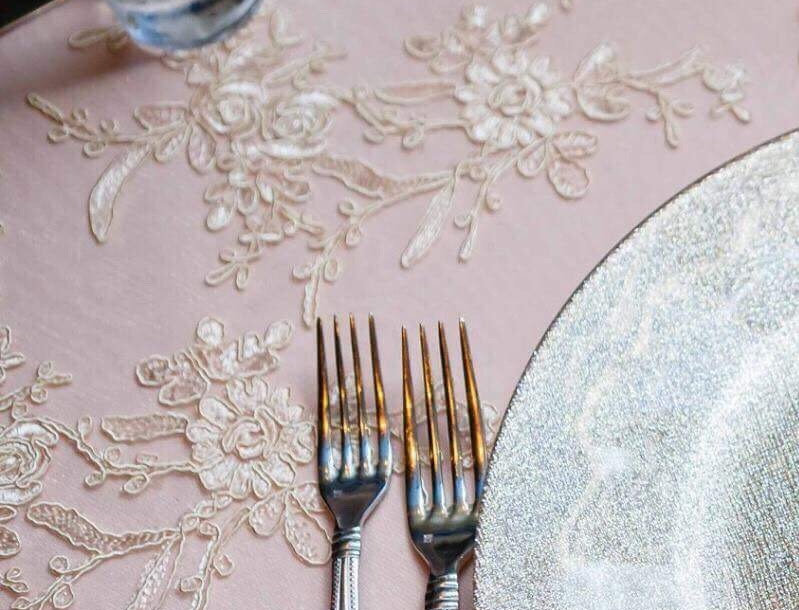 French Lace Overlays- Linens