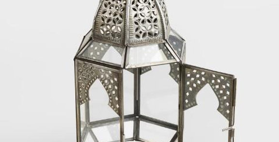 Silver Moroccan Lanterns