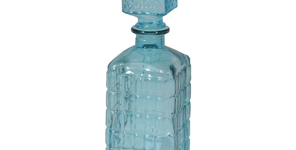 Baby Blue Decanter