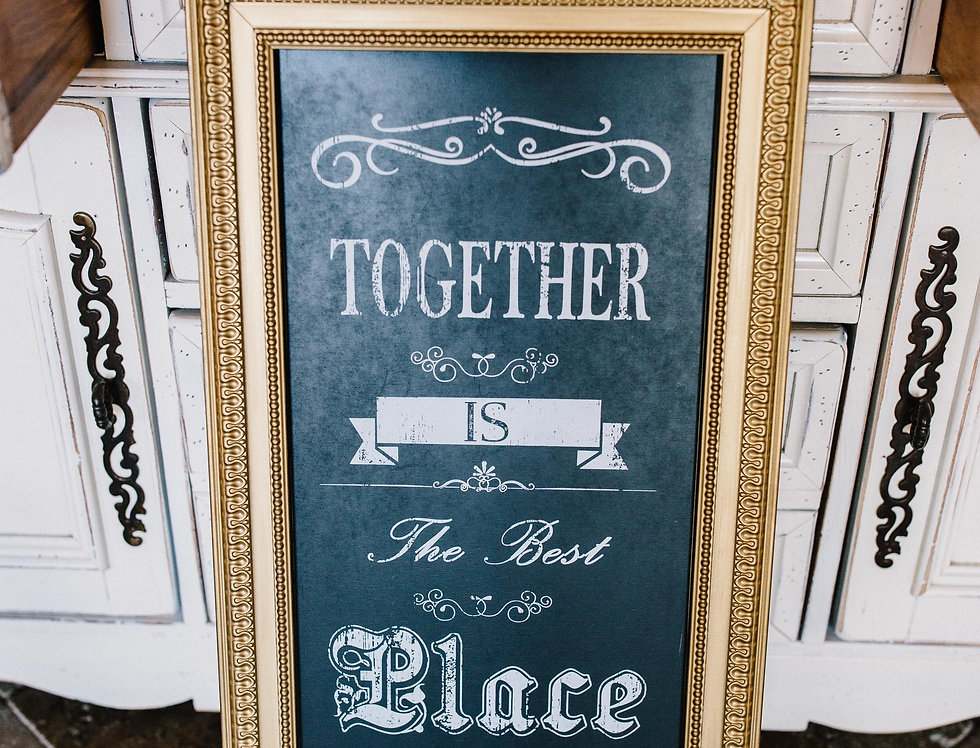 Together is the best place to be