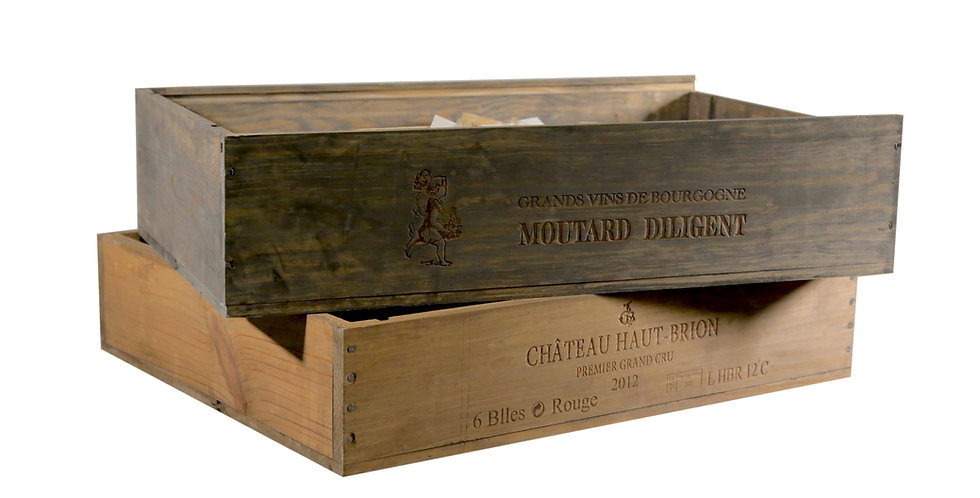 Champagne Wooden Crates