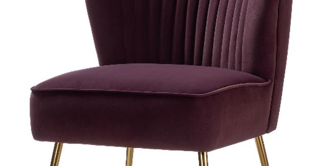 Violet Velvet Chairs (2)