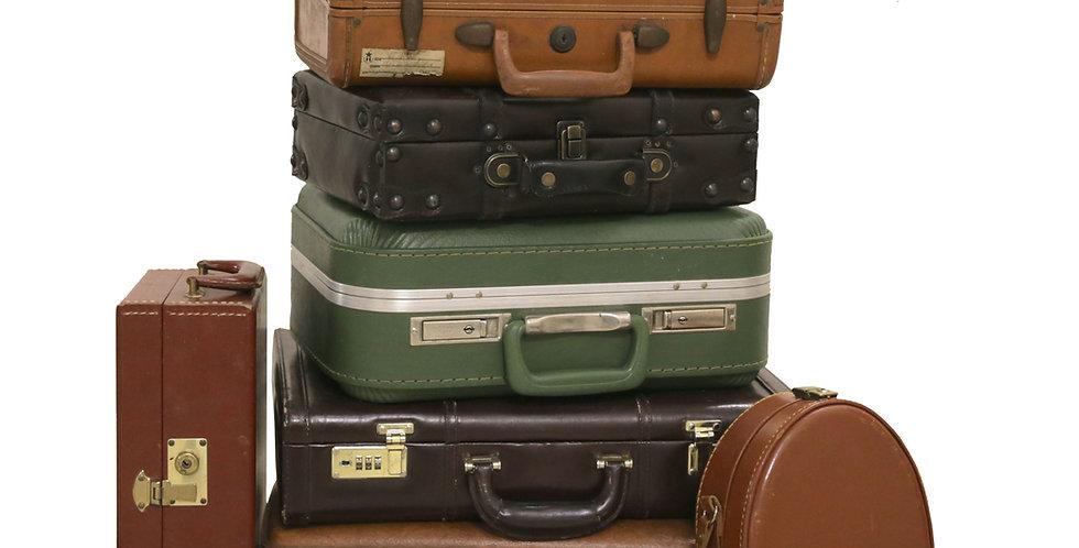Medium Vintage Suitcases