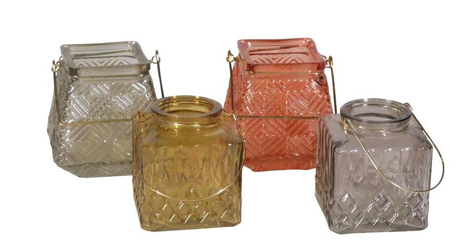 Mini Colored Lanterns