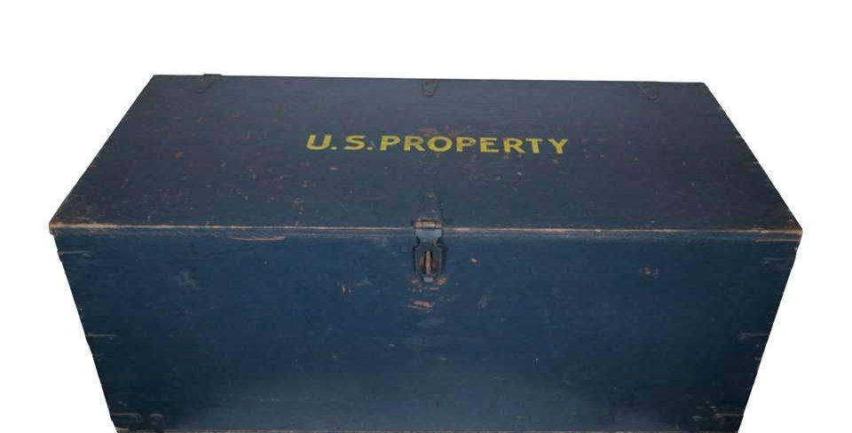 Air Force Trunk Coffee Table