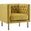 Thumbnail: Ira Yellow Velvet Chair