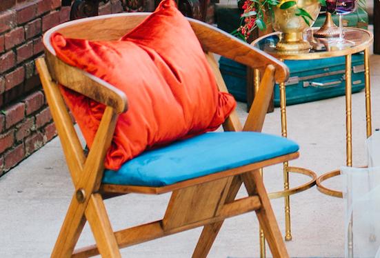 Heidi Velvet Chair
