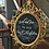 Thumbnail: Gold Welcome Chalkboard Sign