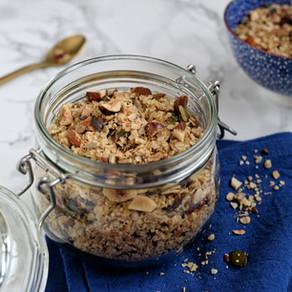 granola protéiné sans sucre