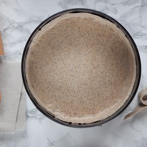 Pâte à tarte farine de sarrasin et riz complet