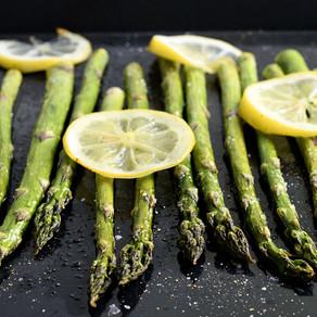Pâtes aux asperges vertes & citron