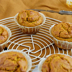 Muffins à la courge sans sucre