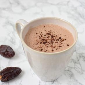 Chocolat chaud aux dattes medjoul