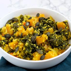 Mijoté de légumes d'hiver  au curry
