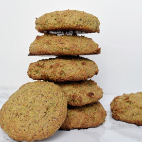 Cookies moelleux amandes & pistaches