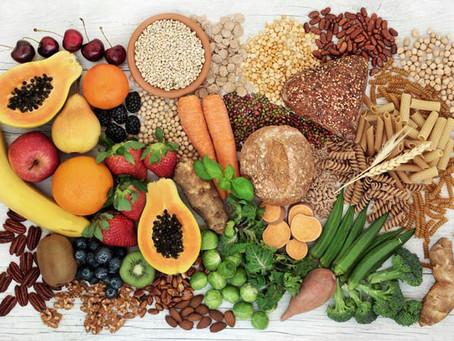 La fibra es un nutriente que te mantendrá lleno, saludable y es fantástica para ti...
