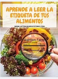 Aprende a leer la etiquetas de los alime