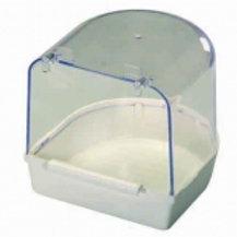 Badehaus mit Kunststoffboden