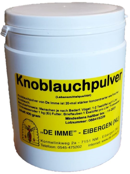 De Imme Knoblauchpulver