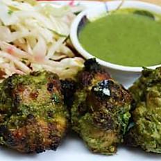 Appetizer Chicken Hariyali Kebab