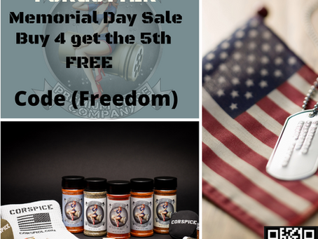 Give Back this Memorial Day.