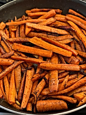 Pan Fried Caramelized Carrots