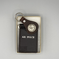 Leather Military Branch keys chain and Wallet