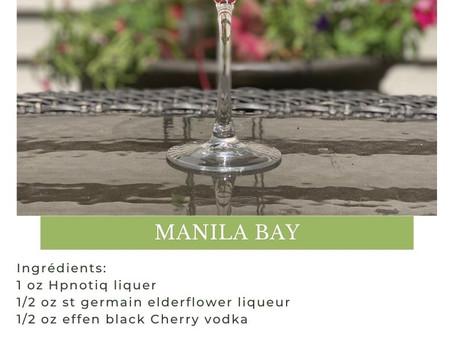 Manila Bay Martini