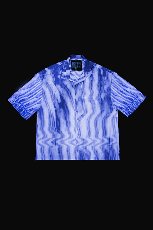 CAMISA OPTICAL AETHER BLUE