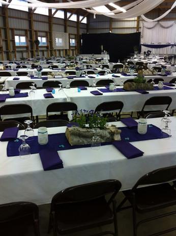 4-H building wedding table set up 2.JPG