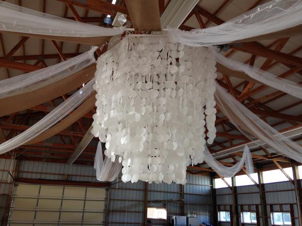 4-H building wedding ceiling decor 2.JPG