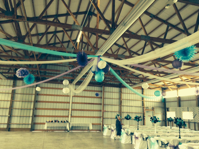 4-H building wedding ceiling decor.JPG