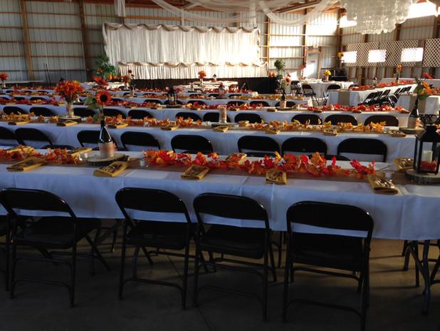 4-H building wedding table set up.JPG