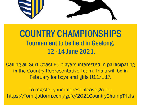 Represent our Club at the Country Championships!