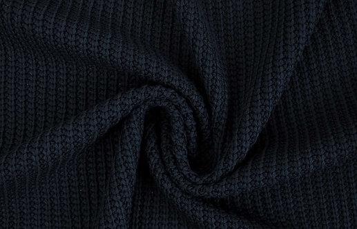 Grobstrick dunkelblau