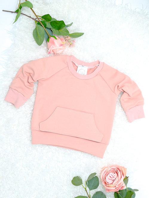 Raglan Sweater mit Bauchtasche