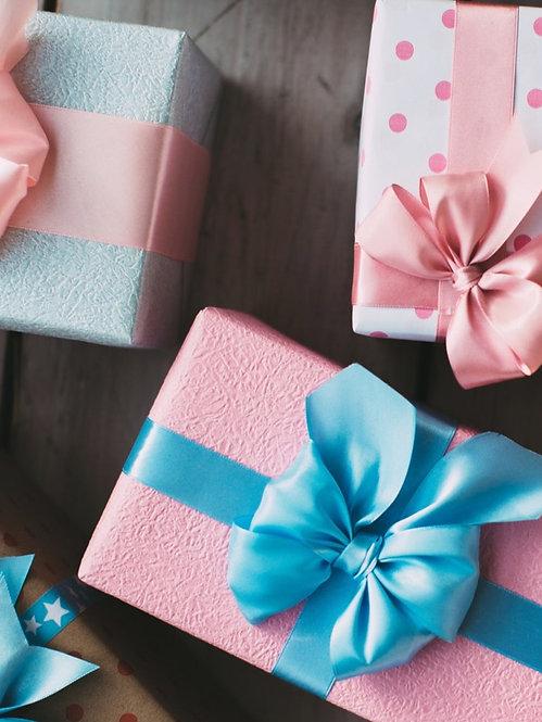 Geschenksverpackung mit Kärtli