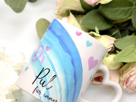 Vorlage für die Tasse mit Zeichnung