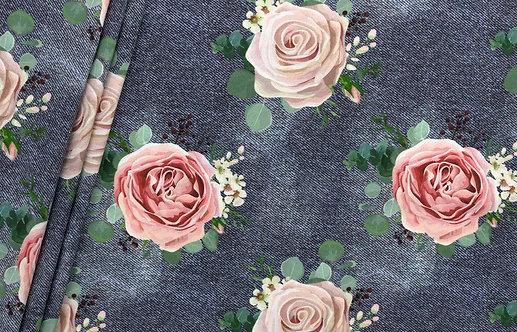 "Bio Jeans Jersey ""big roses"""