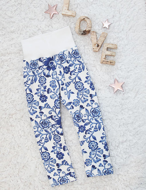 Leggings Flowers Grösse 86