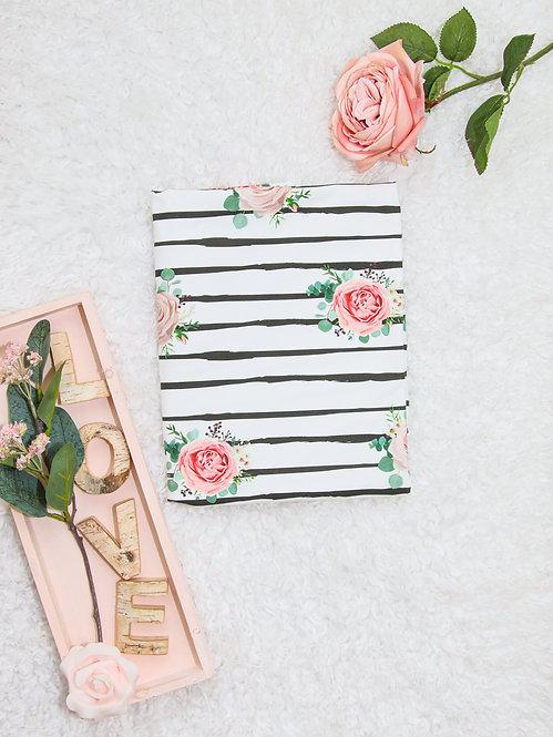 "Bio Jersey ""stripes & flowers"""
