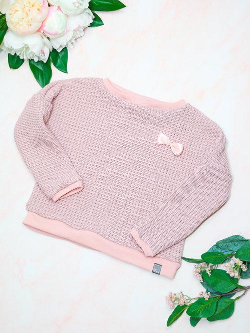 Strick-Pullover mit Bündchen