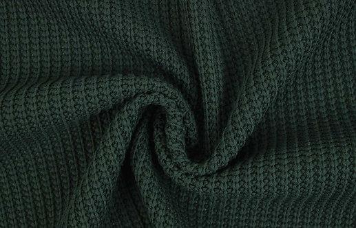Grobstrick dunkelgrün