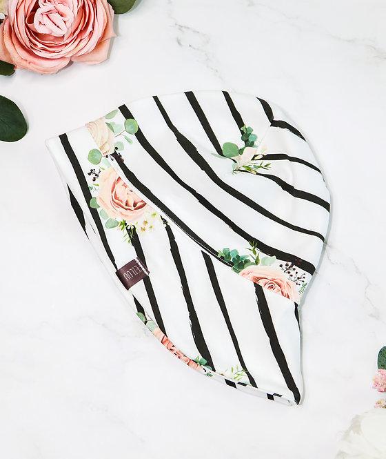 Sommerhut Jersey (stripes & flowers)