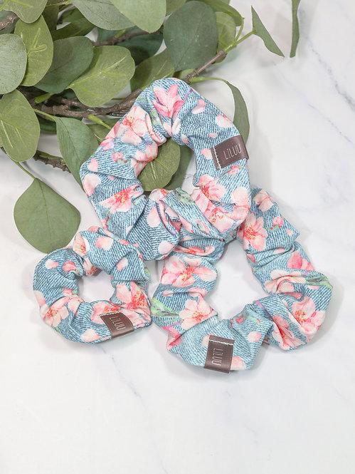 "Jersey Scrunchie ""Kirschblüte"""